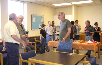 Retirement Party for Hermann Burchard